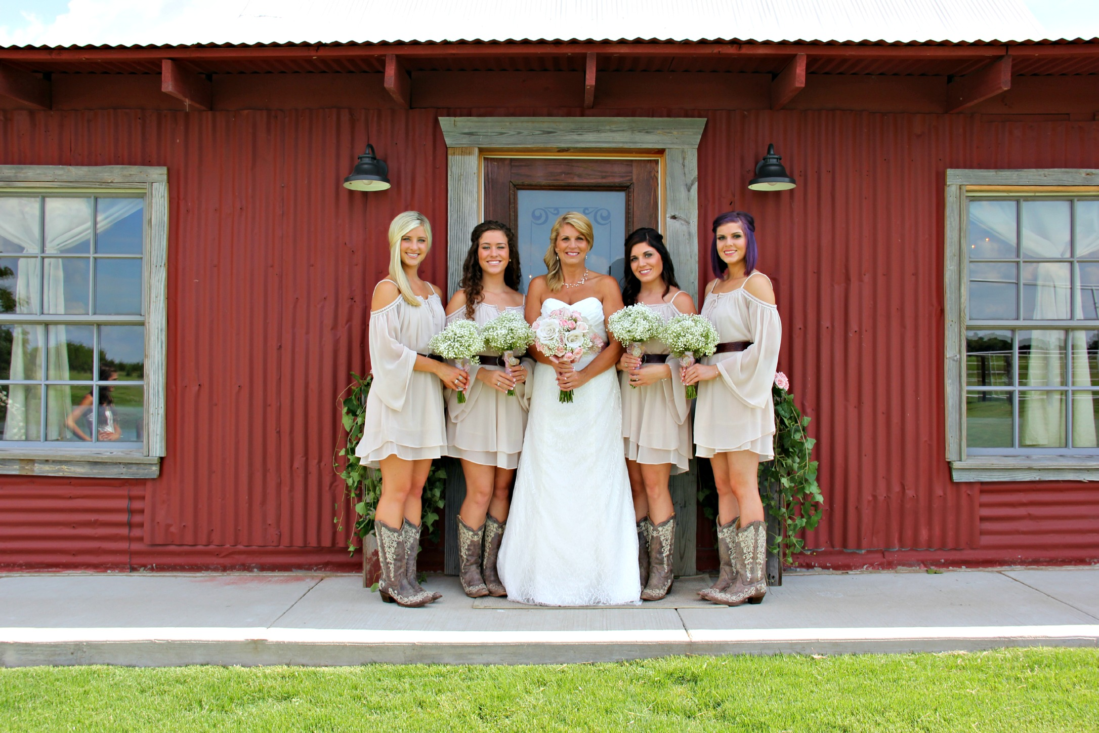 Barn Wedding Rustic Grace Estate