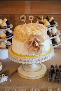 McKinney Rustic Wedding Cake